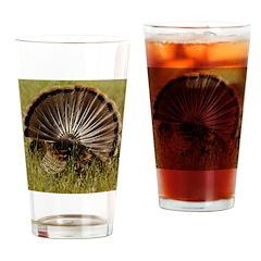 Turkey Fan Drinking Glass