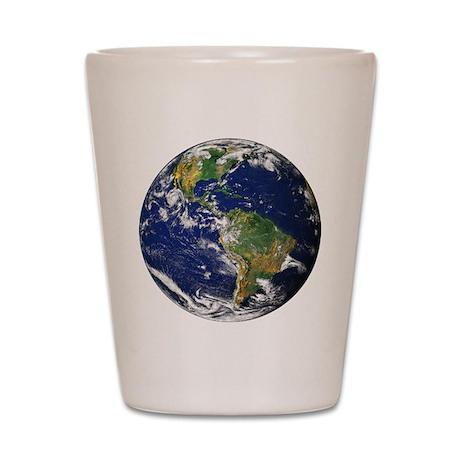 Planet Earth Shot Glass