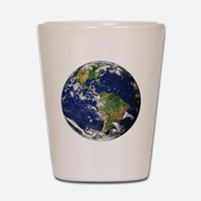 Planet Earth Shot Glass