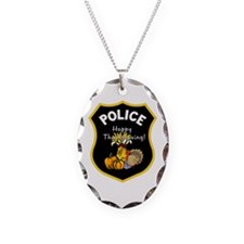 Police Thanksgiving Necklace