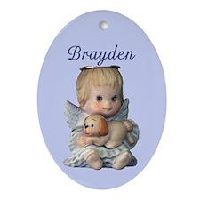 Brayden Ornament (Oval)
