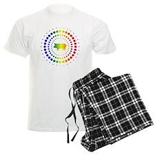 Pig Rainbow Studs Pajamas