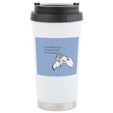 Indebted to You Stainless Steel Travel Mug