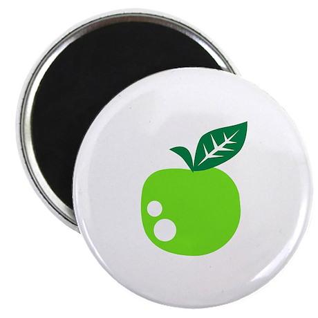 """Green apple 2.25"""" Magnet (10 pack)"""