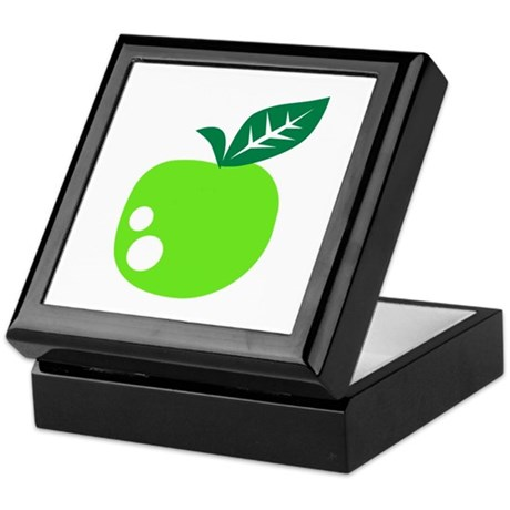 Green apple Keepsake Box