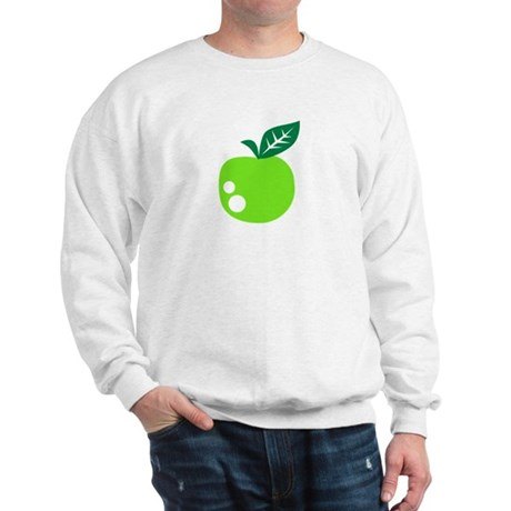 Green apple Sweatshirt