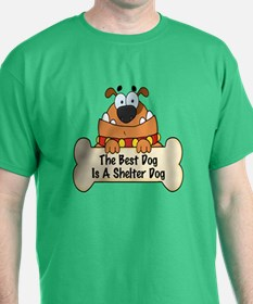 Best Shelter Dogs T-Shirt