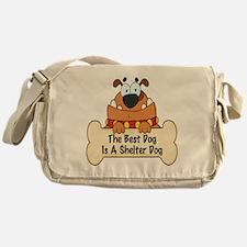 Best Shelter Dogs Messenger Bag