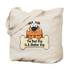 Best Shelter Dogs Tote Bag