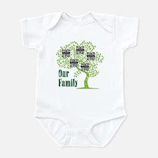 QR Family Tree (5) Infant Bodysuit