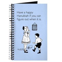 Hanukkah Date Journal