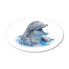 Happy Dolphin Wall Decal