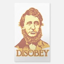 "Thoreau ""Disobey"" Decal"