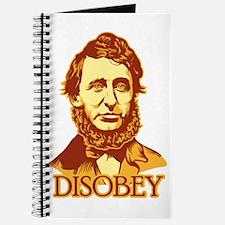 "Thoreau ""Disobey"" Journal"