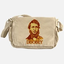 "Thoreau ""Disobey"" Messenger Bag"