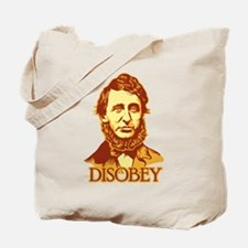 "Thoreau ""Disobey"" Tote Bag"