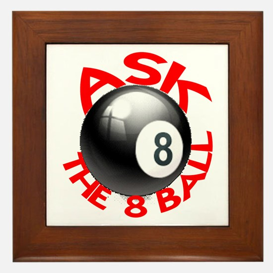 ASK THE 8 BALL™ Framed Tile