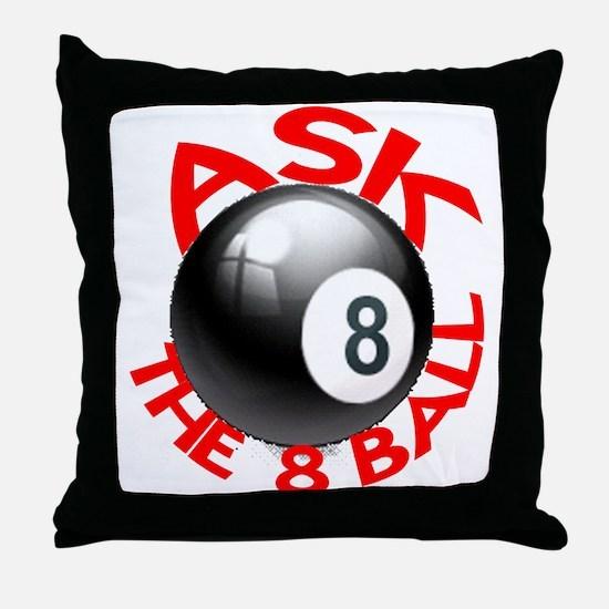 ASK THE 8 BALL™ Throw Pillow