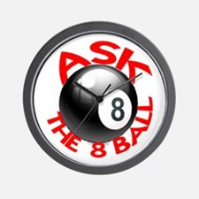 ASK THE 8 BALL™ Wall Clock