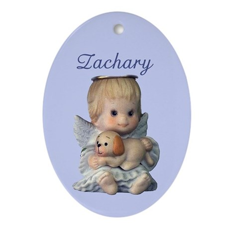 Zachary Ornament (Oval)