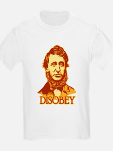"""Thoreau """"Disobey"""" T-Shirt"""