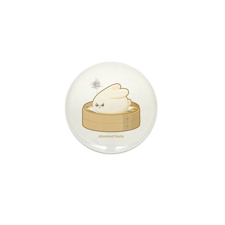 Steamed Buns Mini Button
