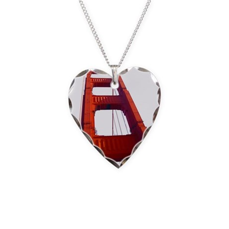 Golden gate bridge necklace by sf t shirts for Golden gate bridge jewelry