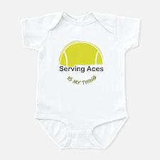 Tennis-Serving Aces Infant Bodysuit