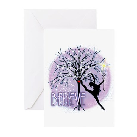 Star Believer by DanceShirts.com Greeting Cards (P