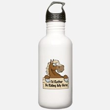Riding My Horse Water Bottle