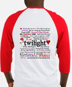 Twilight Quotes Baseball Jersey
