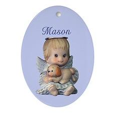 Mason Ornament (Oval)