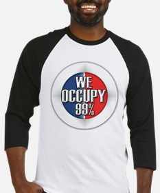We Occupy 99% Baseball Jersey