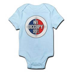 We Occupy 99% Infant Bodysuit