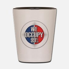 We Occupy 99% Shot Glass