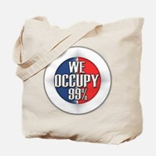 We Occupy 99% Tote Bag