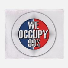 We Occupy 99% Throw Blanket