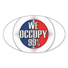 We Occupy 99% Decal