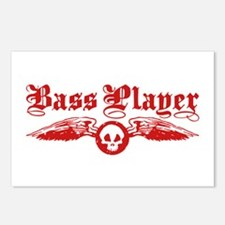 Bass Player Postcards (Package of 8)