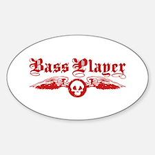 Bass Player Decal