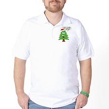 Funny Merry Christmas tree T-Shirt