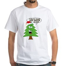 Funny Merry Christmas tree Shirt