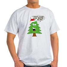 Funny Merry Christmas tree T-Shirt