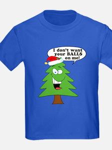 Funny Merry Christmas tree T