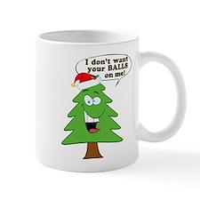 Funny Merry Christmas tree Mug