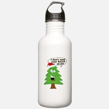 Funny Merry Christmas tree Water Bottle