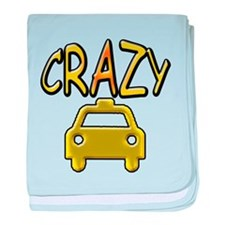Crazy Taxi baby blanket
