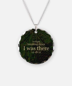 Twilight Breaking Dawn I Was Necklace