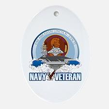 CVN-72 USS Lincoln Ornament (Oval)