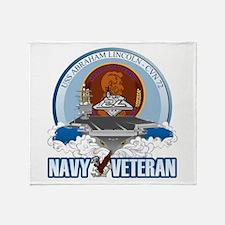 CVN-72 USS Lincoln Throw Blanket